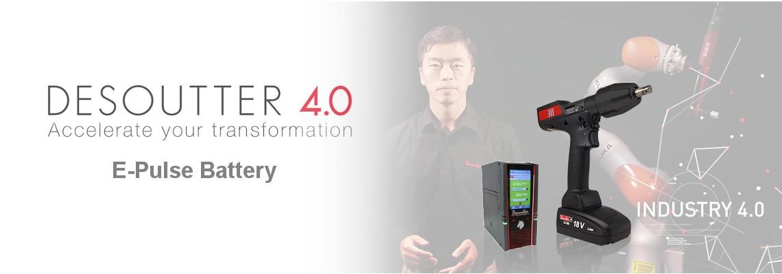E-Pulse Battery (バッテリー式電動パルスツール) 発売開始!