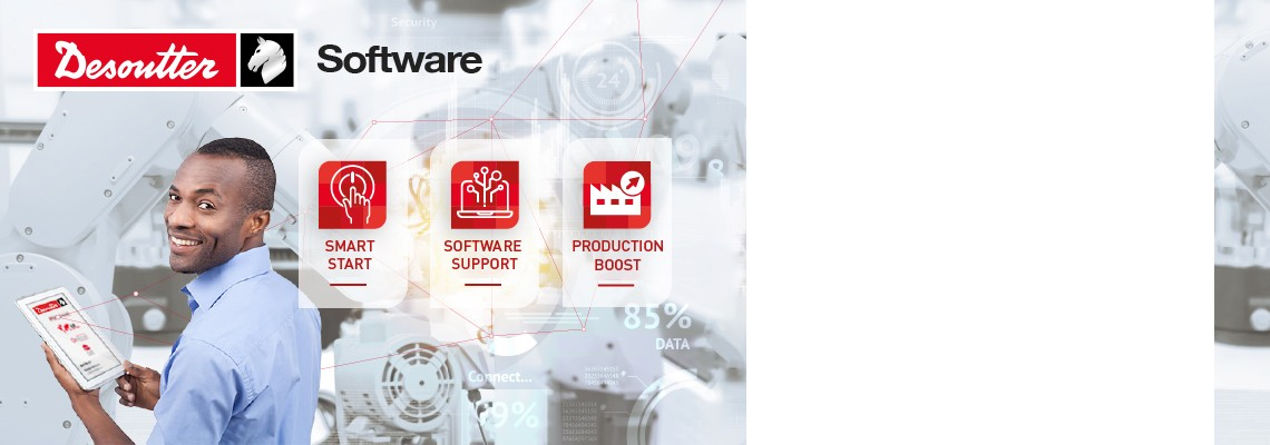 Desoutterソフトウェアを最大限に活用するためのサポートが全てここに。