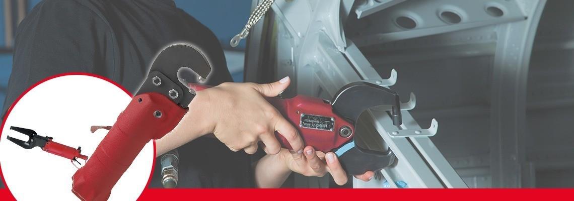 Desoutter Toolsは、自動車・航空業界向けの様々な空気動式工具を製作しました。見積またはデモをご依頼ください!