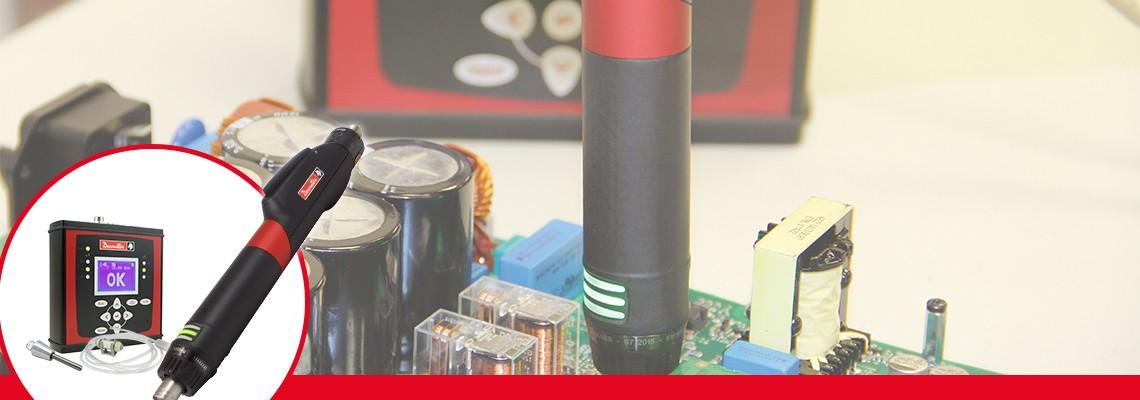CVIXSシリーズは、非常に低いトルクレンジによる精密な締付作業を行うのに最適な製品です。