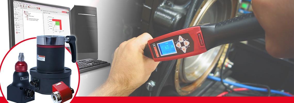 Desoutter Industrial Toolsは、ノンインパクトアセンブリ工具のトルク出力を測定する様々なロータリートルクトランスデューサを設計しました。