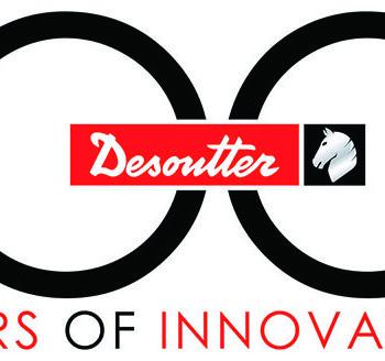 デソータ100周年ロゴ