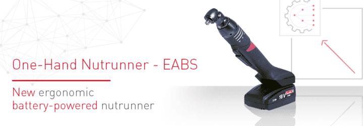 新製品!片手で操作できるバッテリーナットランナー「EABSシリーズ」